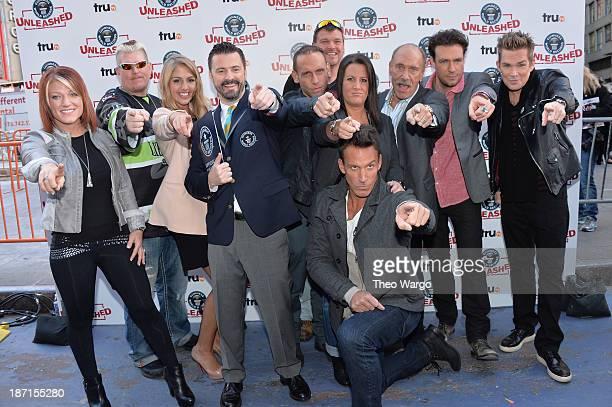 TruTV's Amy Shirley, Ron Shirley, Liz Smith, Stuart Claxton, Seth Gold, Bobby Brantley, Ashley Broad, Dan Cortese, Les Gold, Zach Selwyn, and Mark...