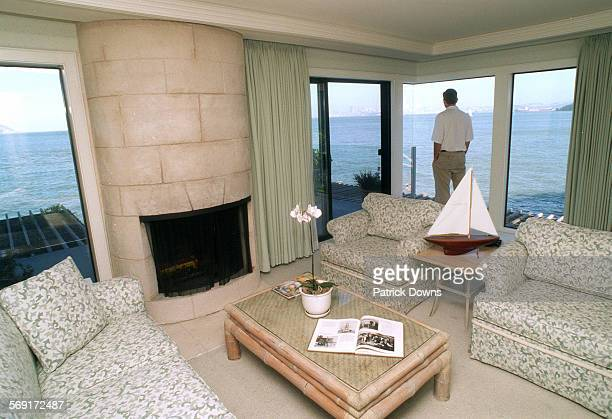 For weekend escape story Sausalito/Pescadero Interior of room 213 at the Inn Above Tide in Sausalito This room $400 a night has the most spectacular...