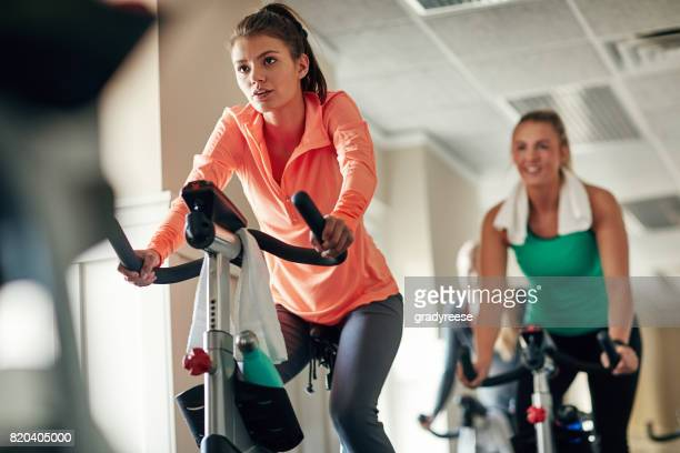 Try spinning for a killer cardio workout