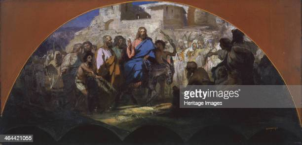 try of Christ into Jerusalem 1876 Found in the collection of the State Russian Museum St Petersburg
