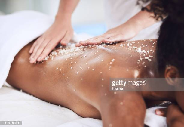 try one of our exfoliating treatments for a change - exfoliation stock pictures, royalty-free photos & images
