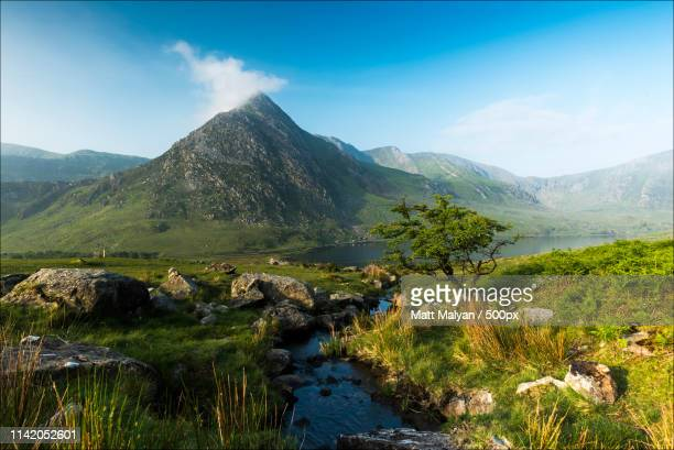 tryfan - llandovery stock photos and pictures