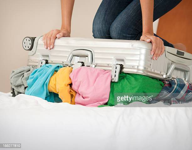 Trying to pack the Suitcase