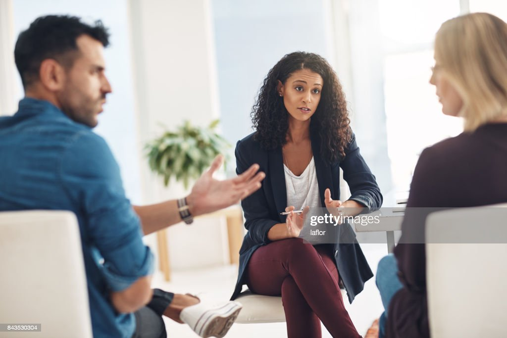 Trying to save a relationship : Stock Photo