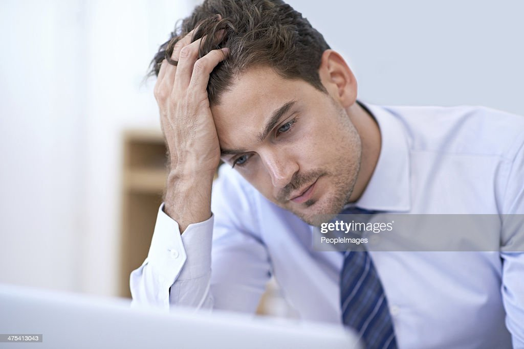 Trying to wrap his head around this problem : Stock Photo