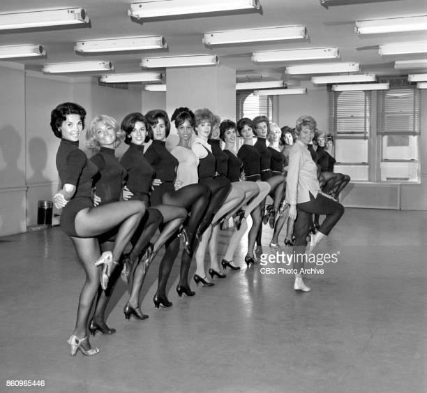 Tryouts for the June Taylor Dancers for The Jackie Gleason Show The American Scene Magazine Dance choreographer June Taylor oversees the auditions...