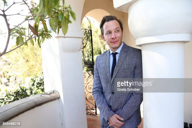 Trystan Puetter cast 'Toni Erdmann' during the German Oscar nominees reception at The Villa Aurora on February 25 2017 in Pacific Palisades California