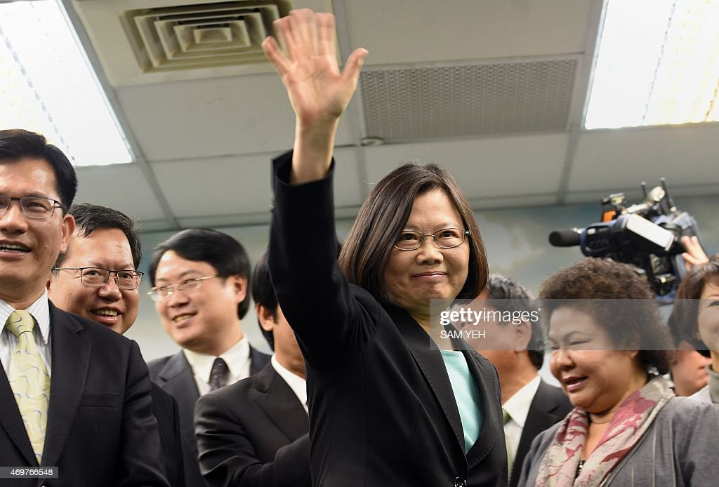 TAIWAN-CHINA-POLITICS : News Photo