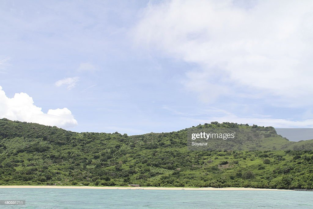 M'Tsamboro island : Stock Photo
