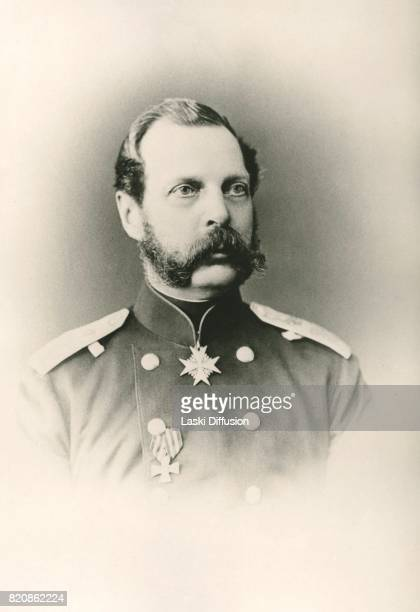 Circa 1870: Tsar Alexander II Romanov. Russia, circa 1870.
