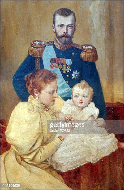 Tsar in Compiegne exhibition the 1901 visit of Tsar Nicholas II to France in Compiegne France on October 19 2001 The imperial family in 1896 The Tzar...