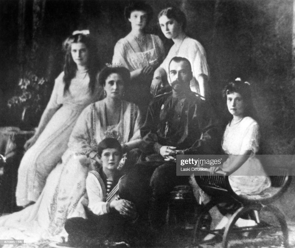 Family of Tsar Nicholas II of Russia : News Photo