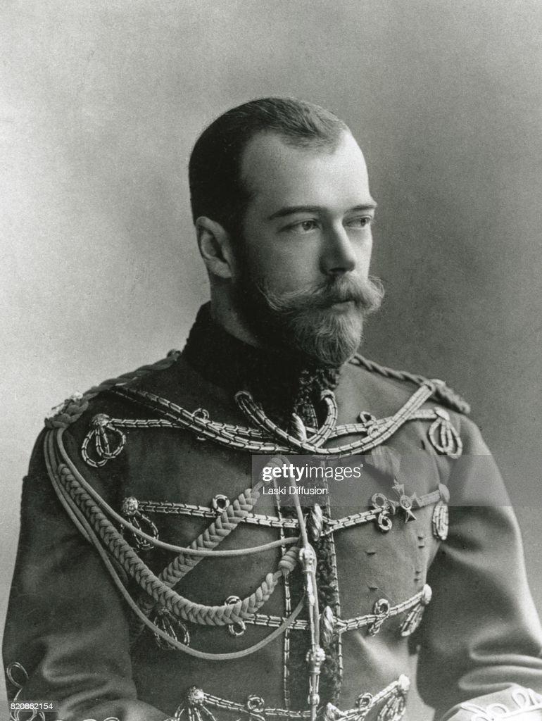 Tsar Nicholas II Romanov. Russia, circa 1900.