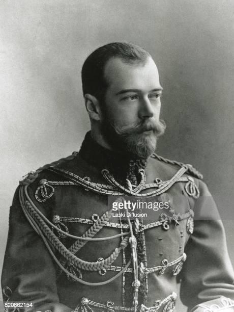 Tsar Nicholas II Romanov Russia circa 1900