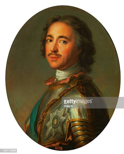 Tsar Peter the Great1717 Canvas 63 x 52 cm By JeanMarc Nattier Musee National du Chateau Versailles France