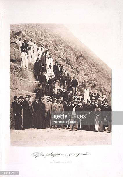 Tsarevich Nicholas Alexandrovich of Russia visiting Egypt 1891 Private Collection Artist Ukhtomsky Esper Esperovich