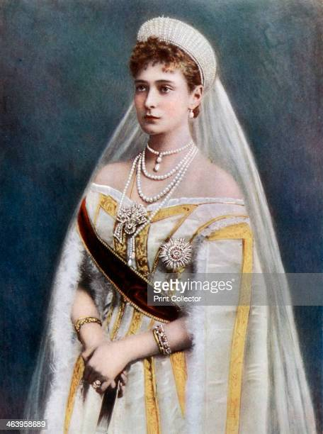 Tsarina Alexandra Empress consort of Russia late 19thearly 20th century Princess Alix was the granddaughter of Queen Victoria and wife of Tsar...