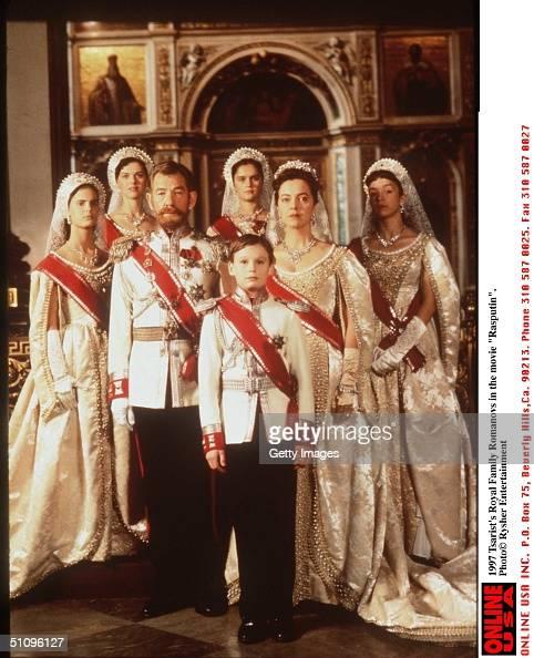 "Tsarist's Royal Familey Romanovs In The Movie ""Rasputin"