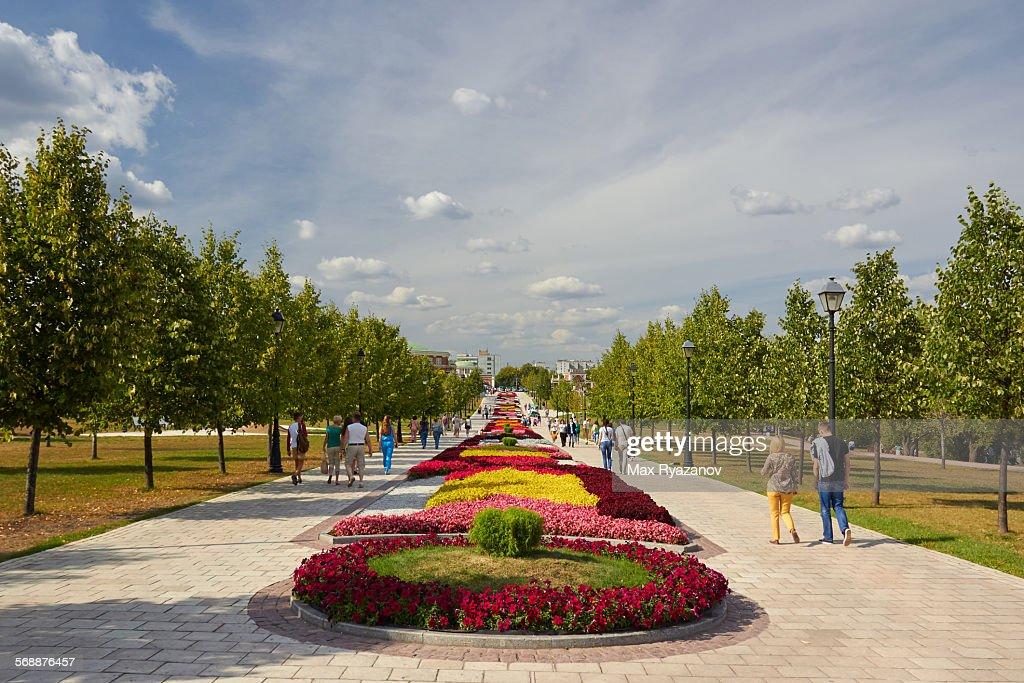 Tsaritsyno Park, Moscow : Stock Photo
