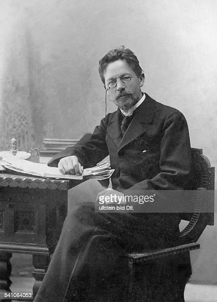 Tschechow Anton Writer Russia*18601904 Portrait 1901