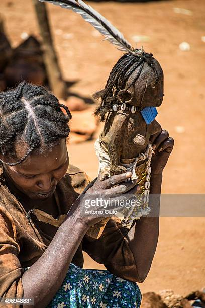 Tsemay woman at Key Afer market It is a typical Southern town and is famous for the market that is formed by all the tribes of the Omo region It...
