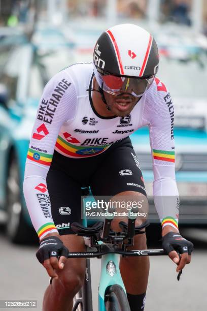 Tsgabu Gebremaryam Grmay of Ethiopia and Team BikeExchange in action during the 74th Tour De Romandie 2021, Stage 5 a 16,2km Individual Time Trial...
