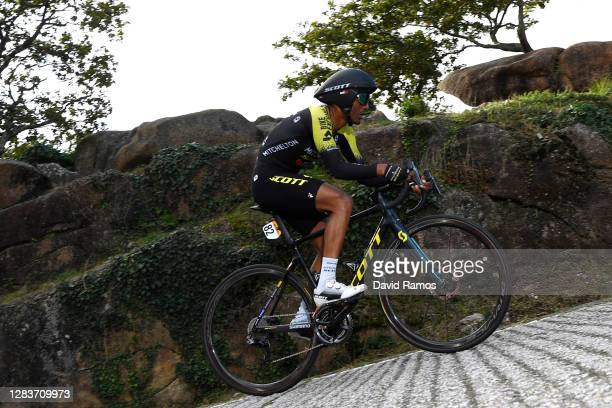 Tsgabu Gebremaryam Grmay of Ethiopia and Team Mitchelton - Scott / during the 75th Tour of Spain 2020, Stage 13 a 33,7km Individual Time Trial stage...