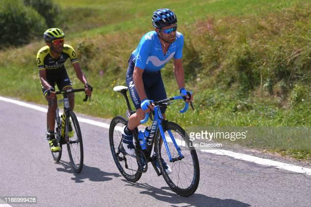 Tsgabu Gebremaryam Grmay of Ethiopia and Team Mitchelton - Scott / Jose Joaquin Rojas Gil of Spain and Movistar Team / during the 76th Tour of Poland...