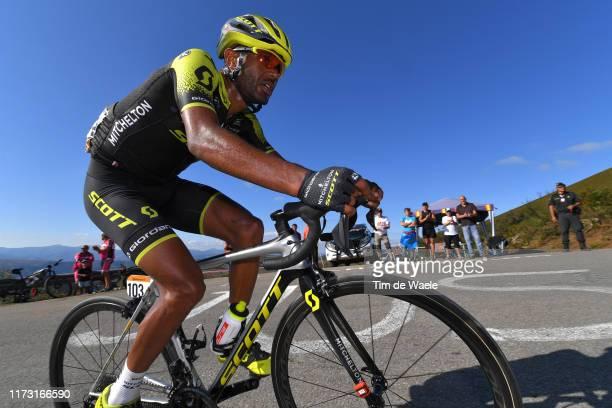 Tsgabu Grmay of Ethiopia and Team Mitchelton-Scott / Puerto del Acebo - Santuario del Acebo / during the 74th Tour of Spain 2019, Stage 15 a 154,4km...