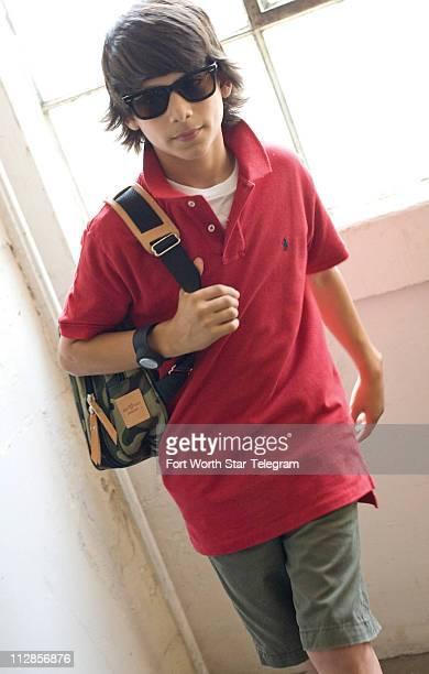 Polo Ralph Lauren $25 each Cargo shorts Gap Kids $1099 Watch Nimbo Cloud 9 $90 Wayfarer Sunglasses RayBan $205 Backpack Jon Hart $105