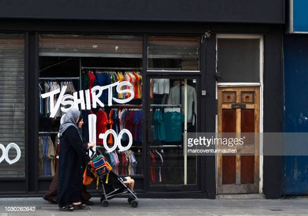 t-shirt shop in London