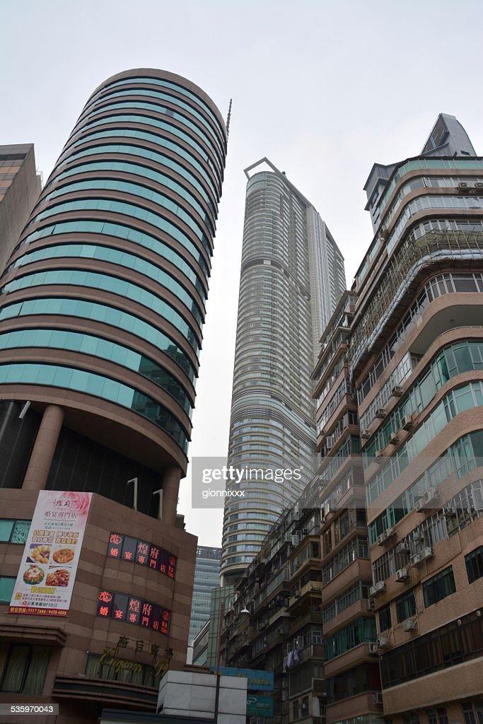 Tsim Sha Tsui high rise buildings : Stock Photo