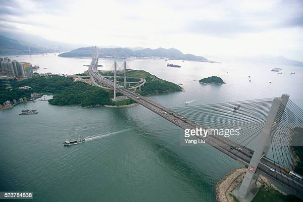 Tsing Ma Bridge Crossing Channel