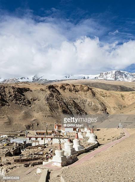 tso moriri lake in ladakh, india - didier marti stock photos and pictures