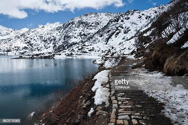 Tsongmo Lake in Sikkim
