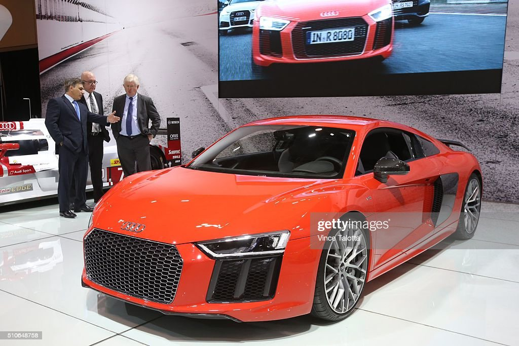 Canadian International Auto Show Pictures Getty Images - Audi toronto