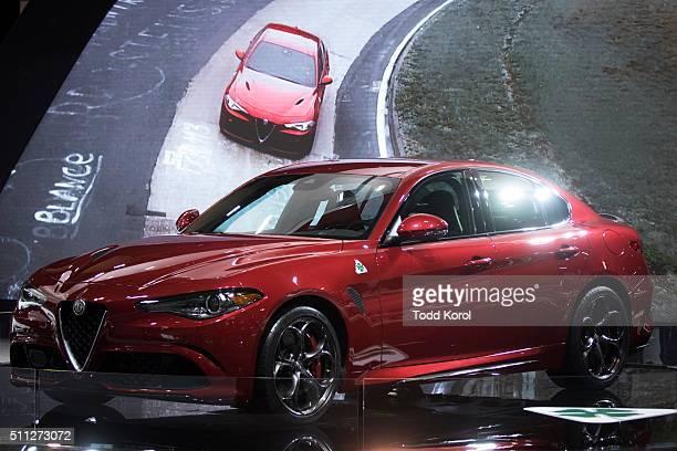 Tstar 2016 auto show The 2017 Alfa Romeo Giulia at the Canadian International Autoshow in Toronto Ontario