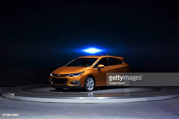 Tstar 2016 auto show The 2017 Chevrolet Cruz in unveiled at the Canadian International Auto Show in Toronto Ontario