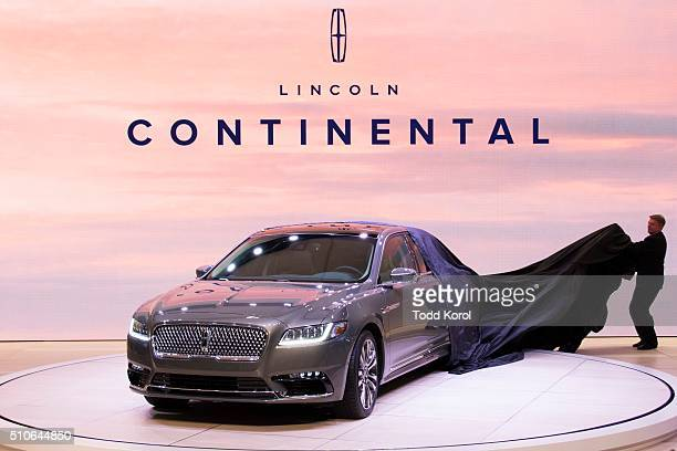 Tstar 2016 auto show The new 2017 Lincoln Continental in unveiled at the Canadian International Auto Show in Toronto Ontario