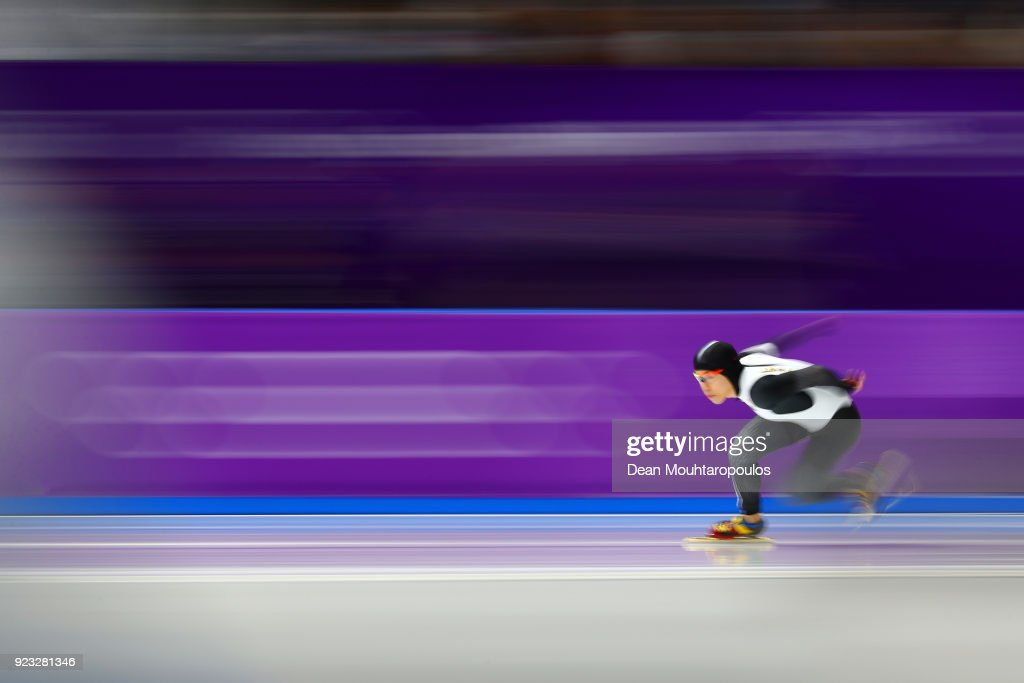 KOR: Speed Skating - Winter Olympics Day 14