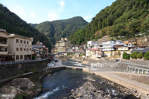 tsuetate onsen, oguni, kumamoto, japan - 山形県 ストックフォトと画像