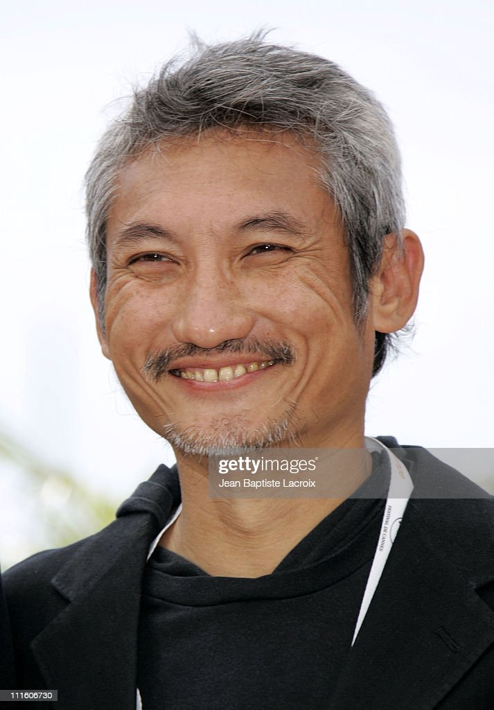 Tsui Hark during 2007 Cannes Film Festival - 'Triangle' Photocall at Palais des Festivals in Cannes, France, France.