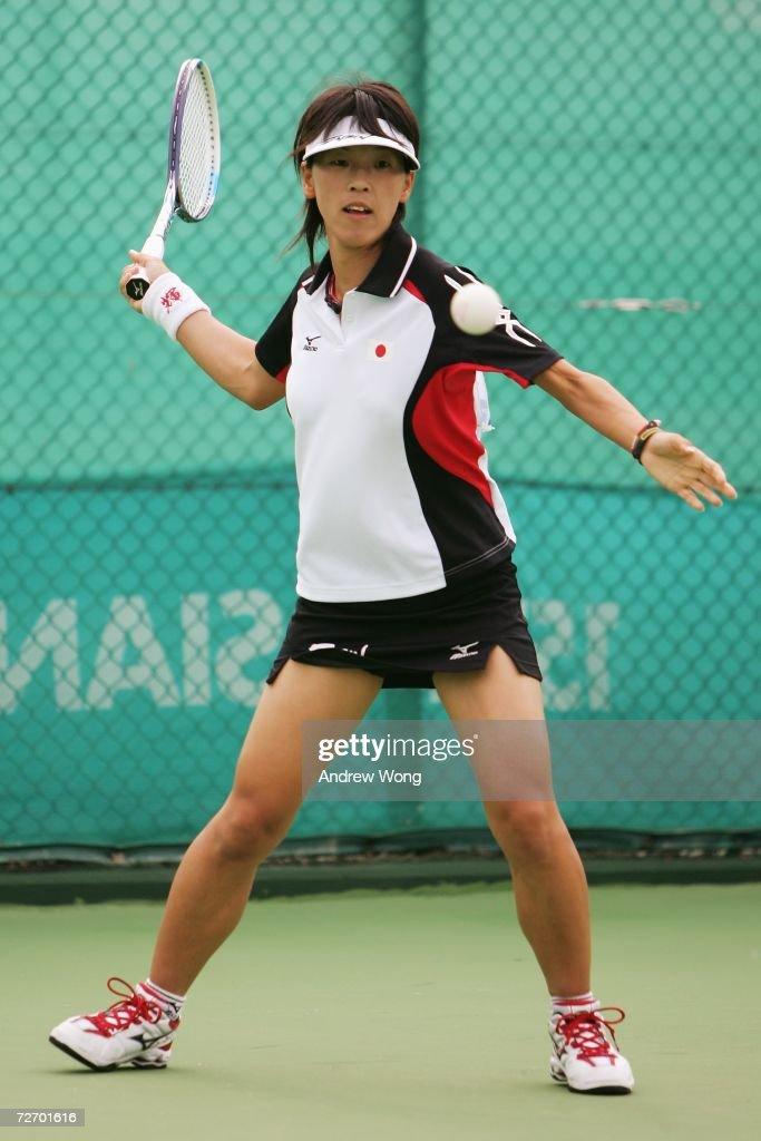 15th Asian Games Doha 2006 - Soft Tennis: Japan v Mongolia : News Photo