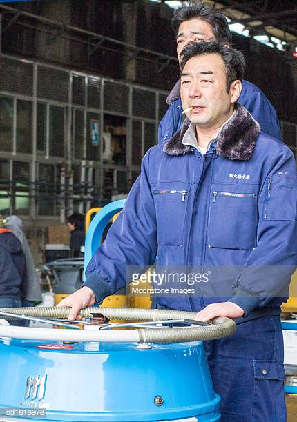 Tsukiji-Fischmarkt in Tokio, Japan