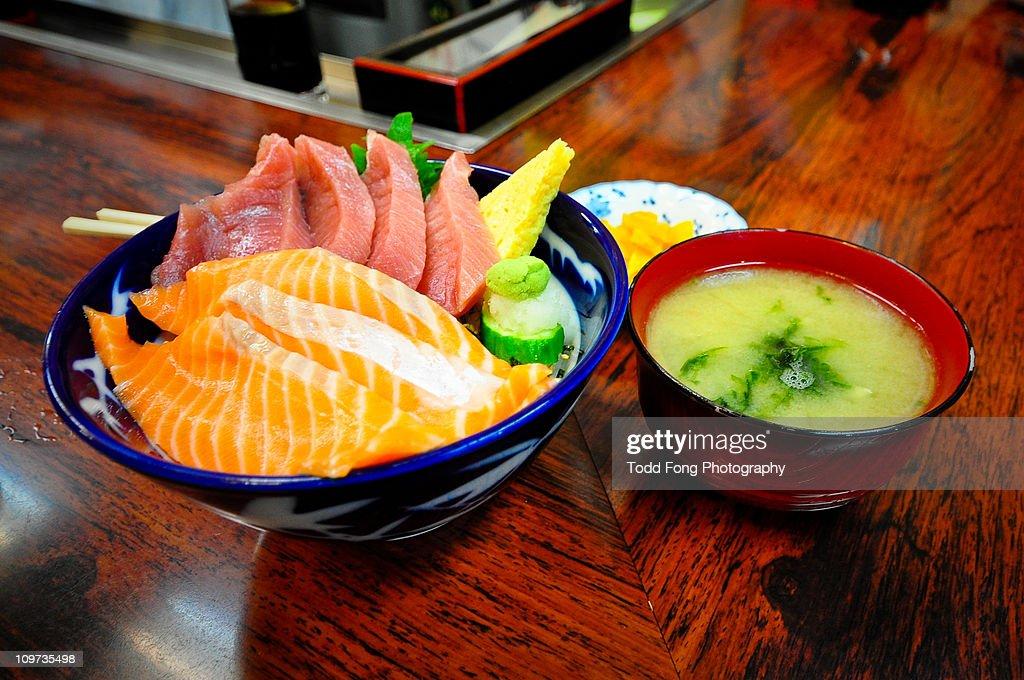 Tsukiji Market Breakfast : Stock Photo