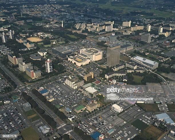 tsukuba science city, tsukuba city, ibaragi prefecture, japan - 茨城県 ストックフォトと画像