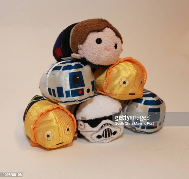 Tsum Tsum stackable plush come in favourite Star Wars characters
