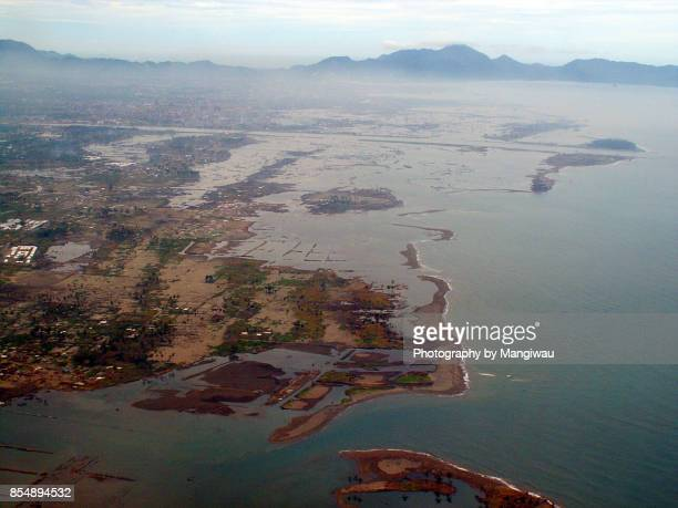tsunami aftermath - tsunami aceh stock photos and pictures
