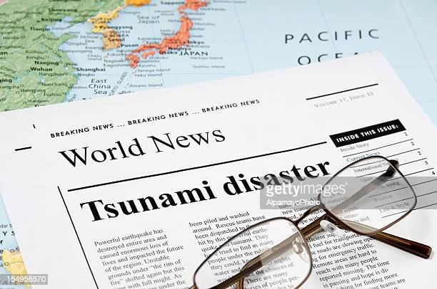 tsunami disaster news - iii - 2004 indian ocean earthquake and tsunami stock photos and pictures