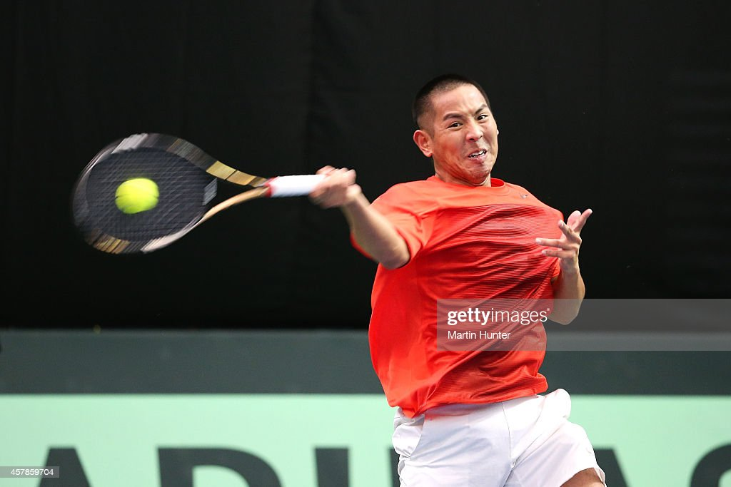 Davis Cup - New Zealand v Chinese Taipei